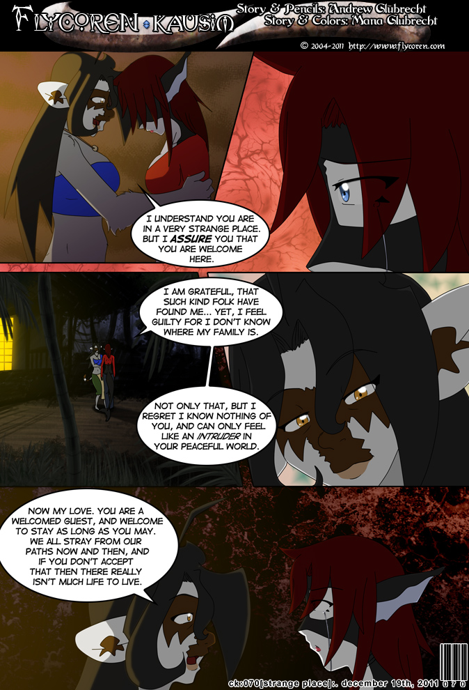 Chapter 3: Strange Place